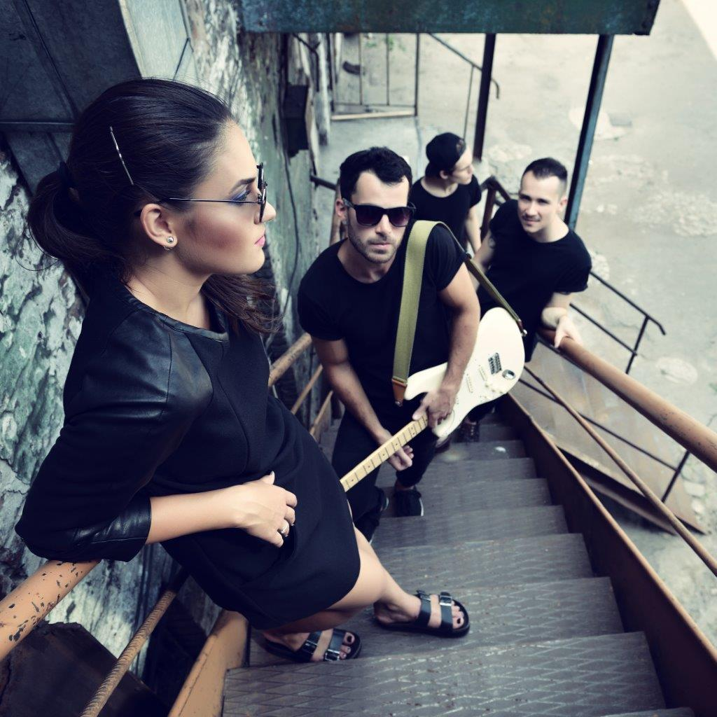 Music Life Band Stairs Portrait